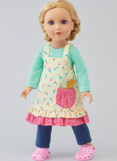 "Kwik Sew K4366 | 18"" Doll Clothes"