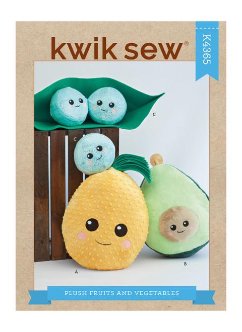 Kwik Sew K4365 | Plush Fruits & Vegetables