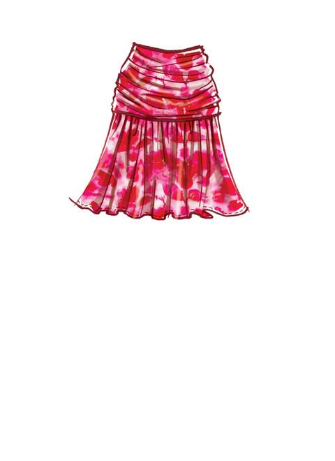 McCall's M8151 | #CarrollMcCalls - Misses' Skirts