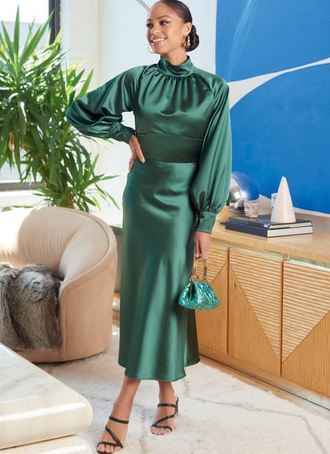 McCall's M8141   #AstorMcCalls - Misses' Dresses