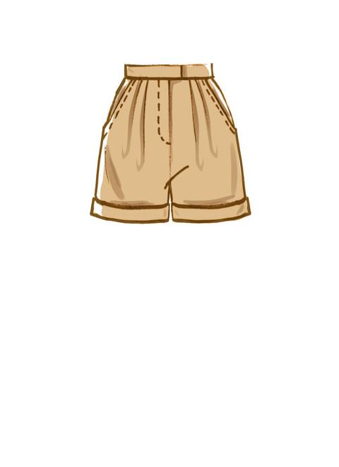 McCall's M8148 (Digital)   #MercerMcCalls - Misses' & Women's Pants