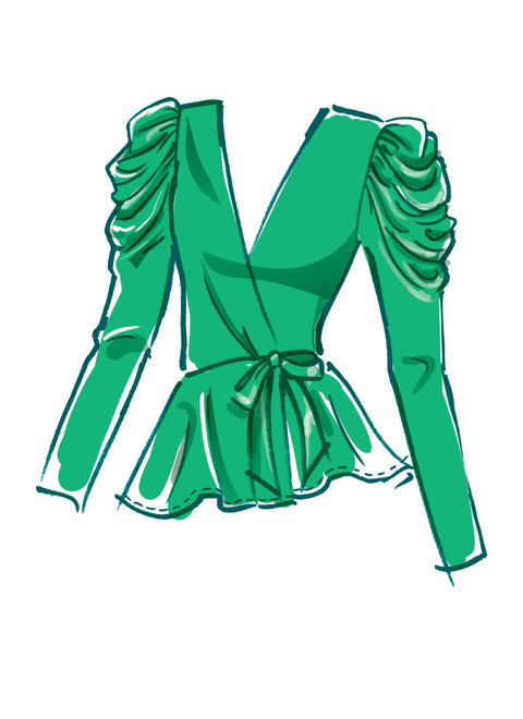 McCall's M8146 (Digital) | #MyrtleMcCalls - Misses' & Women's Tops