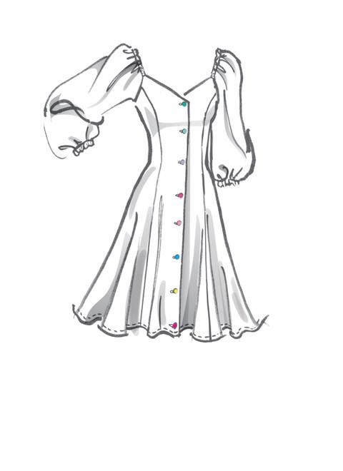 McCall's M8177   Misses' Dresses & Belt