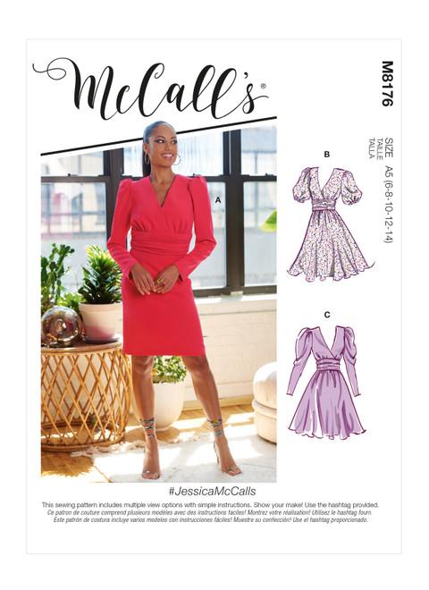 McCall's M8176 | Misses' Dresses