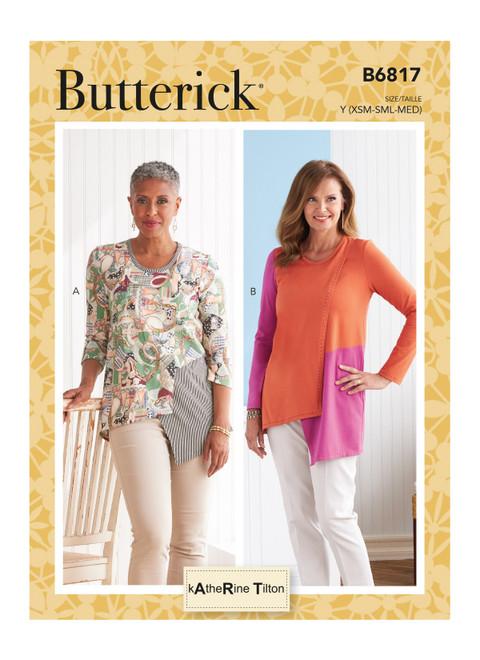 Butterick B6817 (Digital) | Misses' Top