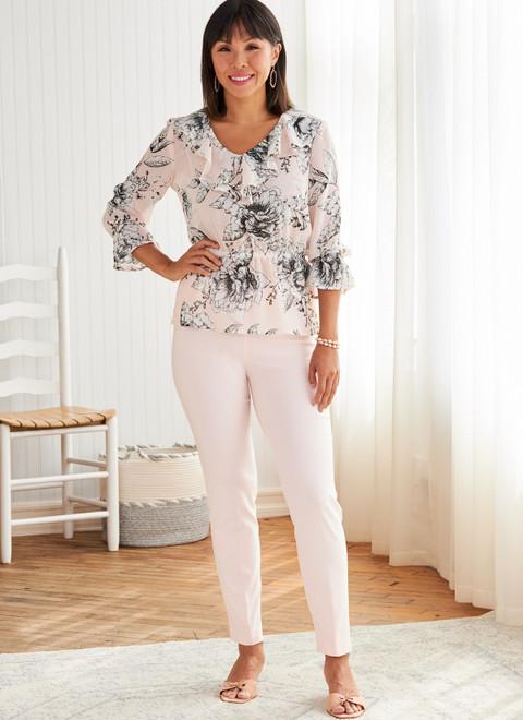 Butterick B6814 (Digital) | Misses' & Women's Top