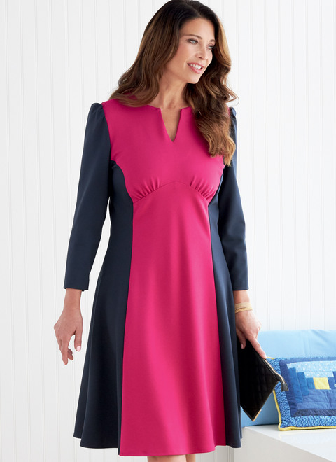 Butterick B6805 | Misses' Dress