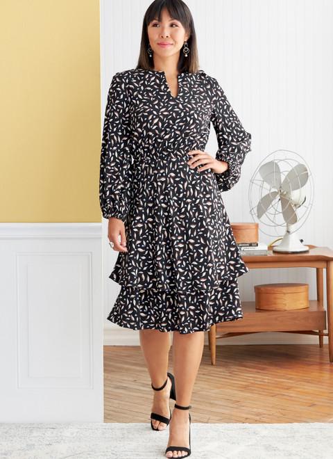 Butterick B6806 (Digital) | Misses' & Women's Dress