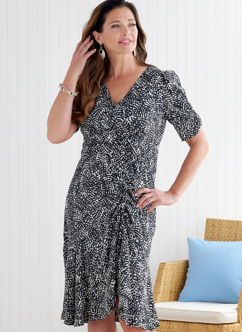 Butterick B6807 | Misses' Dress