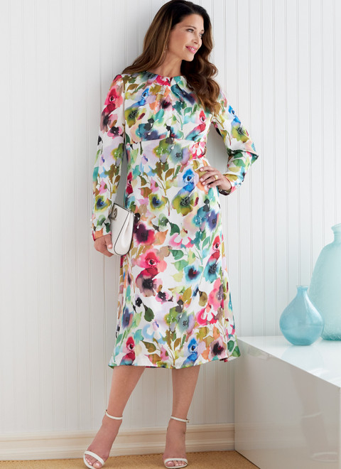 Butterick B6804 | Misses' Dress with A/B, C, D Cup Sizes
