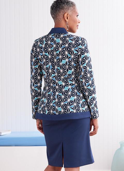 Butterick B6821 (Digital) | Misses' & Women's Jacket & Skirt
