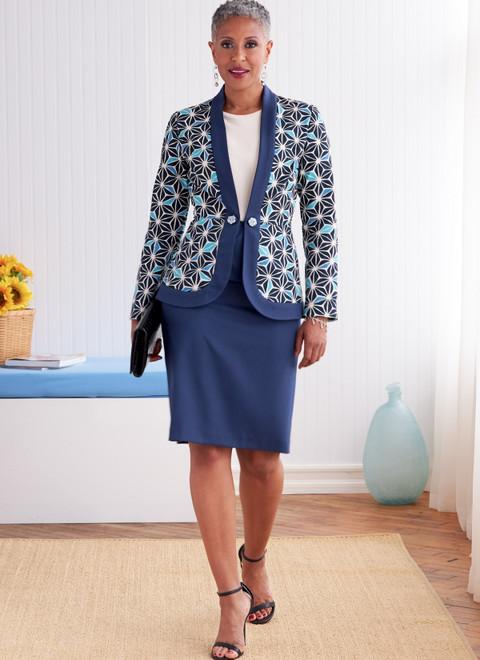 Butterick B6821 | Misses' & Women's Jacket & Skirt