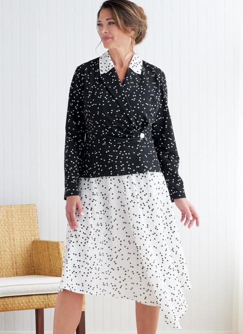 Butterick B6820 | Misses' Jacket, Skirt & Pants