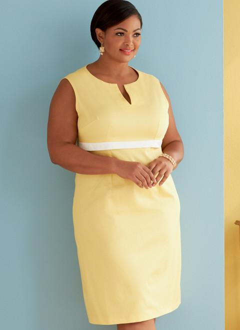 Butterick B6822 (Digital) | Women's Jacket, Dress & Top with C/D, DD, DDD, G, H Cup Sizes