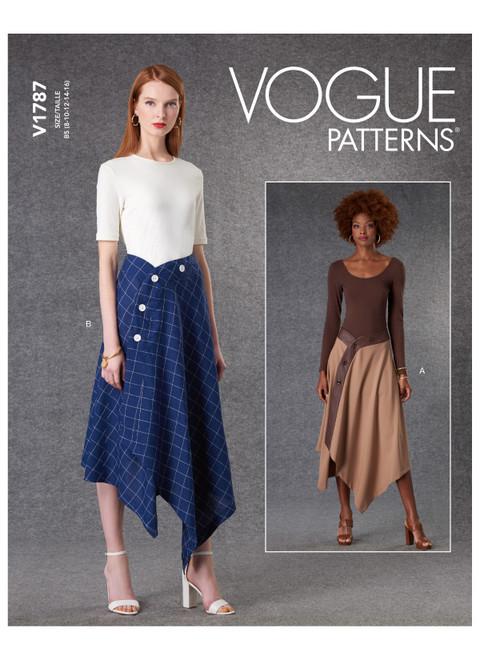 Vogue Patterns V1787 | Misses' Skirts