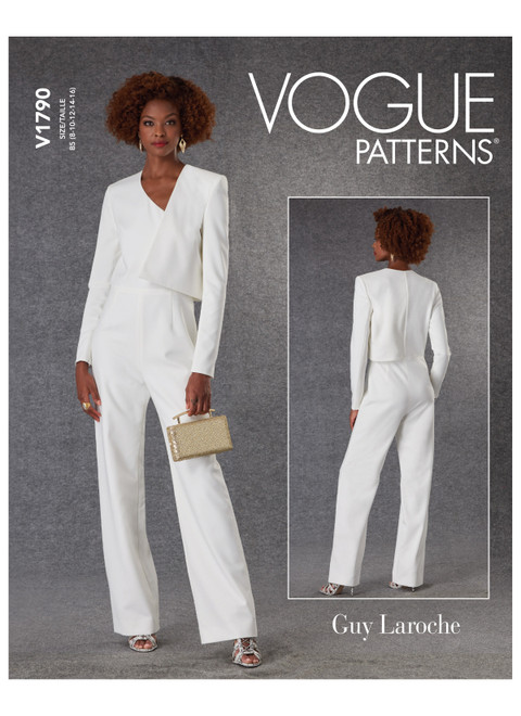Vogue Patterns V1790 | Misses' Jumpsuit