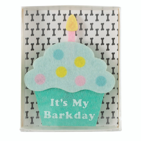 Felt Collar Slide - It's My Barkday