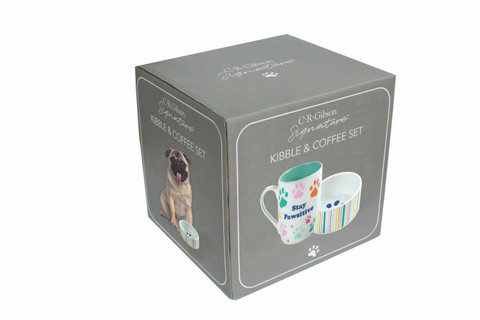 Kibble & Coffee Set - Stay Pawsitive