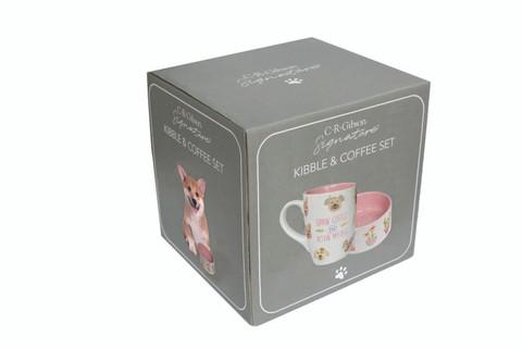 Kibble & Coffee Set - Sippin' Coffee