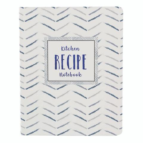 Mini Recipe Notebook - True Blue