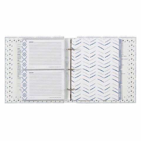 Pocket Page Recipe Book - True Blue