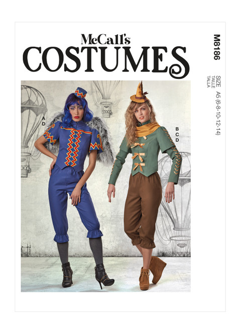 McCall's M8186 (Digital) | Misses' Costume
