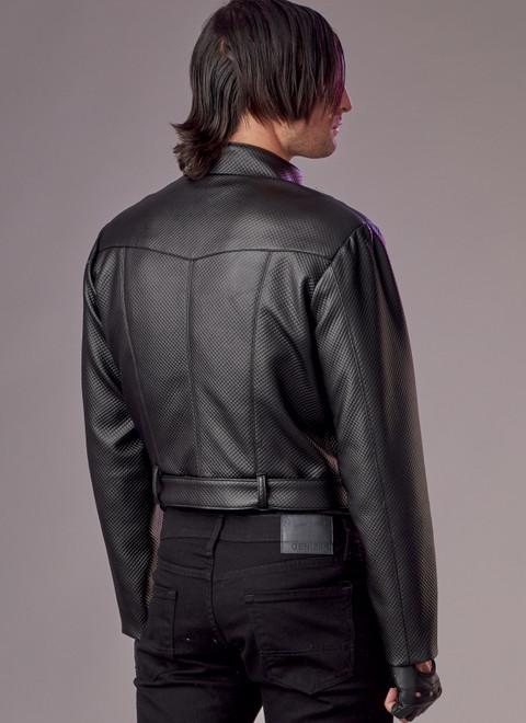 McCall's M8188 (Digital)   Unisex Moto Jacket