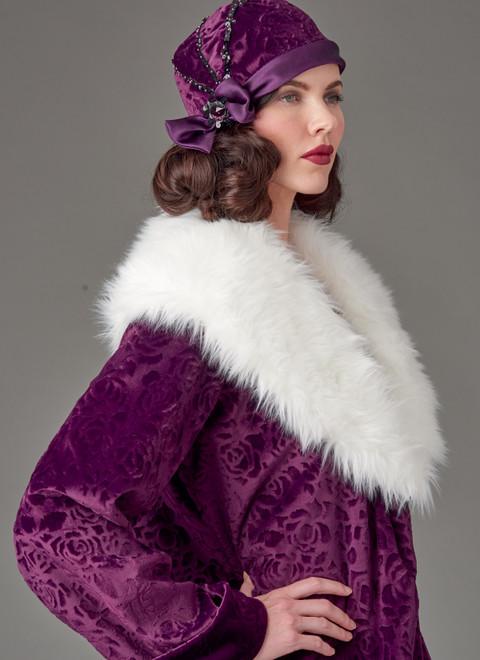 McCall's M8190   Misses' Coat & Hat (Hat In 3 Sizes)