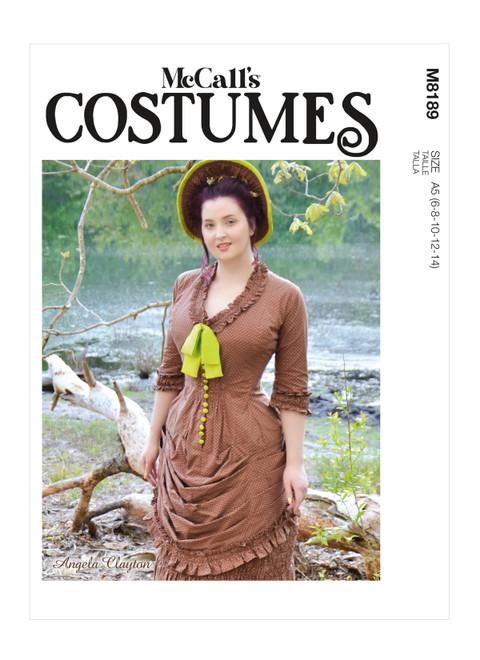 McCall's M8189 (Digital) | Misses' Dress