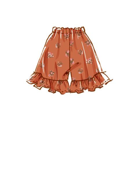 McCall's M8221 (Digital)   Misses' Shorts