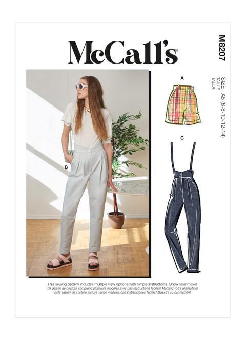 McCall's M8207 | Misses' Pants
