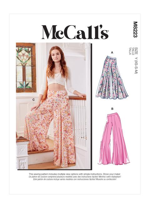 McCall's M8223 | Misses' Pants