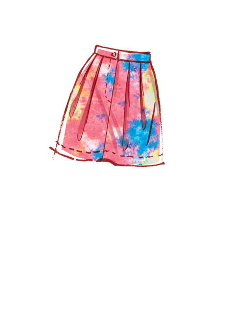 McCall's M8222 | Misses' Skirts