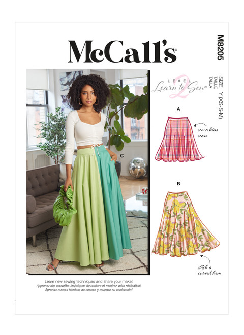 McCall's M8205 | Misses' Skirts