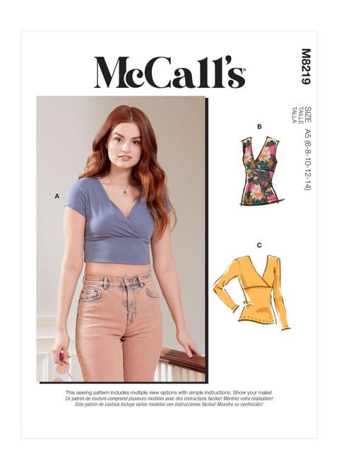 McCall's M8219 | Misses' Top