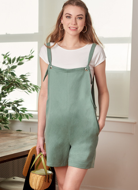 McCall's M8204 | Misses' Overalls