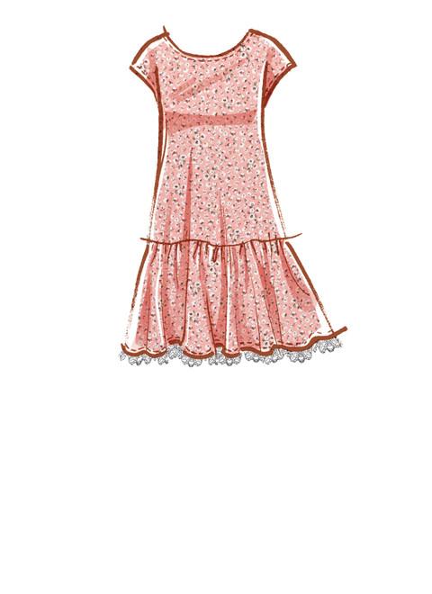 McCall's M8214 | Misses' Dresses & Mask