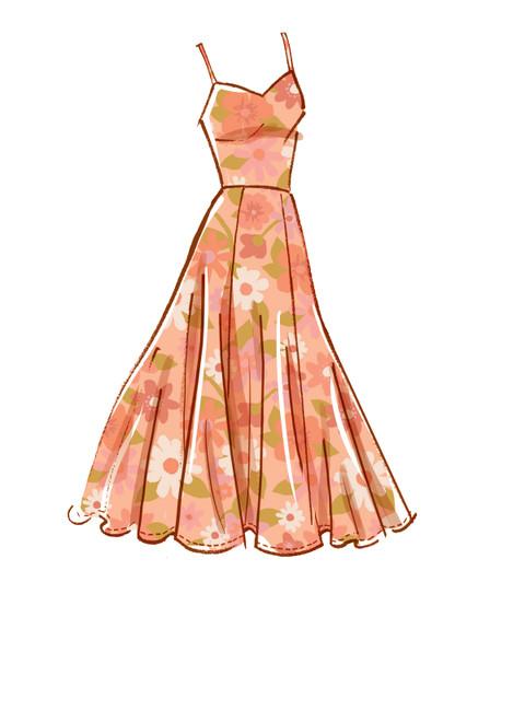 McCall's M8215 (Digital) | Misses' & Women's Dresses