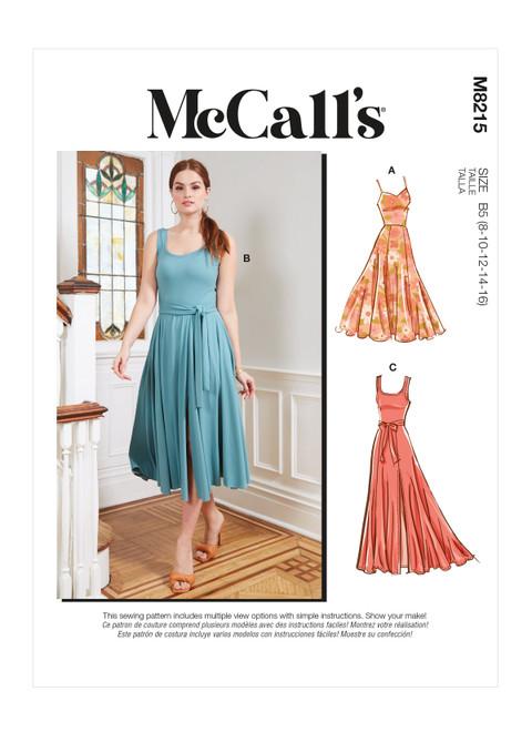 McCall's M8215 | Misses' & Women's Dresses