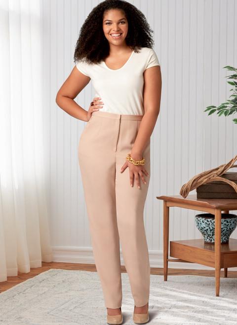 Butterick B6845 (Digital)   Misses' & Women's Tapered Pants