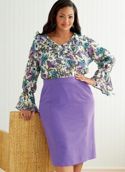 Butterick B6836   Women's Skirt & Belt