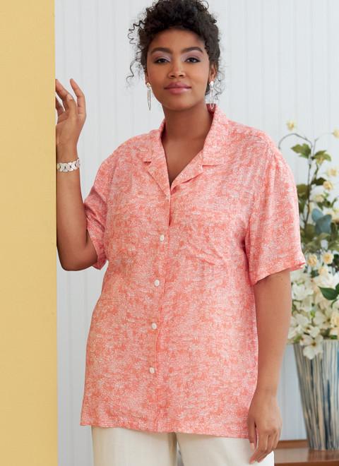 Butterick B6846 | Unisex Button-Down Shirts
