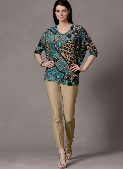 Butterick B6854 | Misses' Tops & Tunic