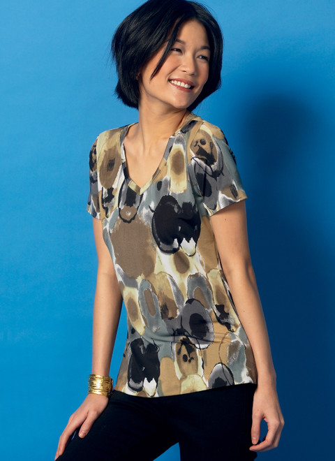 Butterick B6848 | Misses' T-Shirts & Tank Top