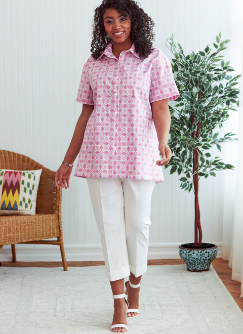 Butterick B6841   Unisex Button-Down Shirts