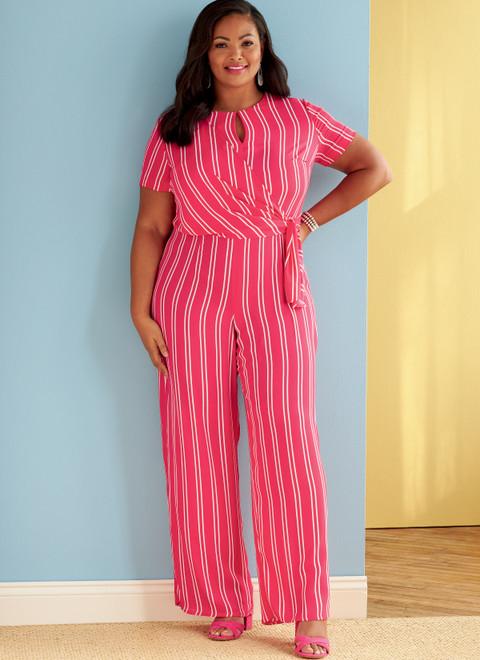 Butterick B6826 (Digital) | Women's Dress & Jumpsuit