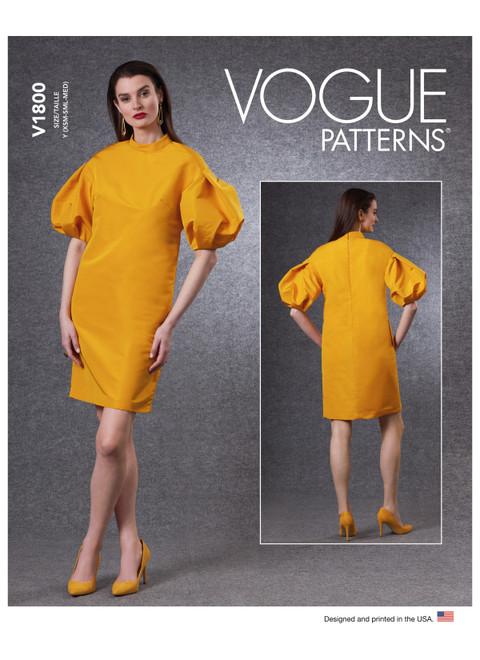 Vogue Patterns V1800   Misses' Dress