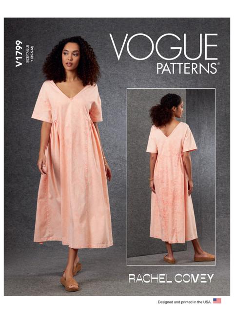 Vogue Patterns V1799 | Misses' Dress