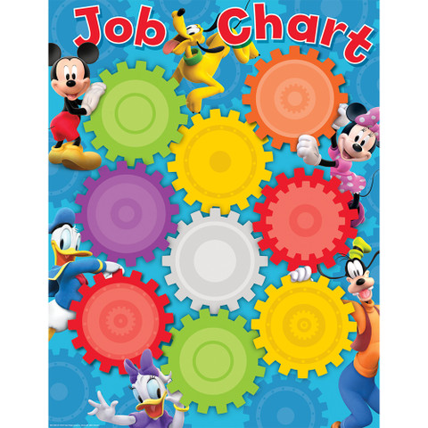 Mickey Mouse Clubhouse® Job Chart