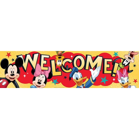 Mickey® Welcome Classroom Banner